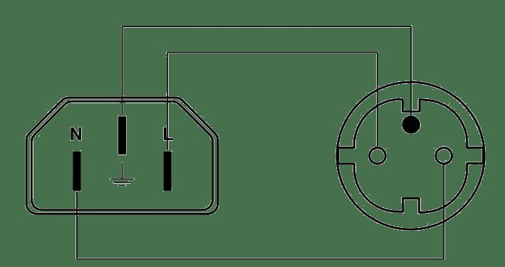 wiring a mains plug type