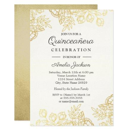 Quinceanera Invitations Beautiful and Personalized Quince Años