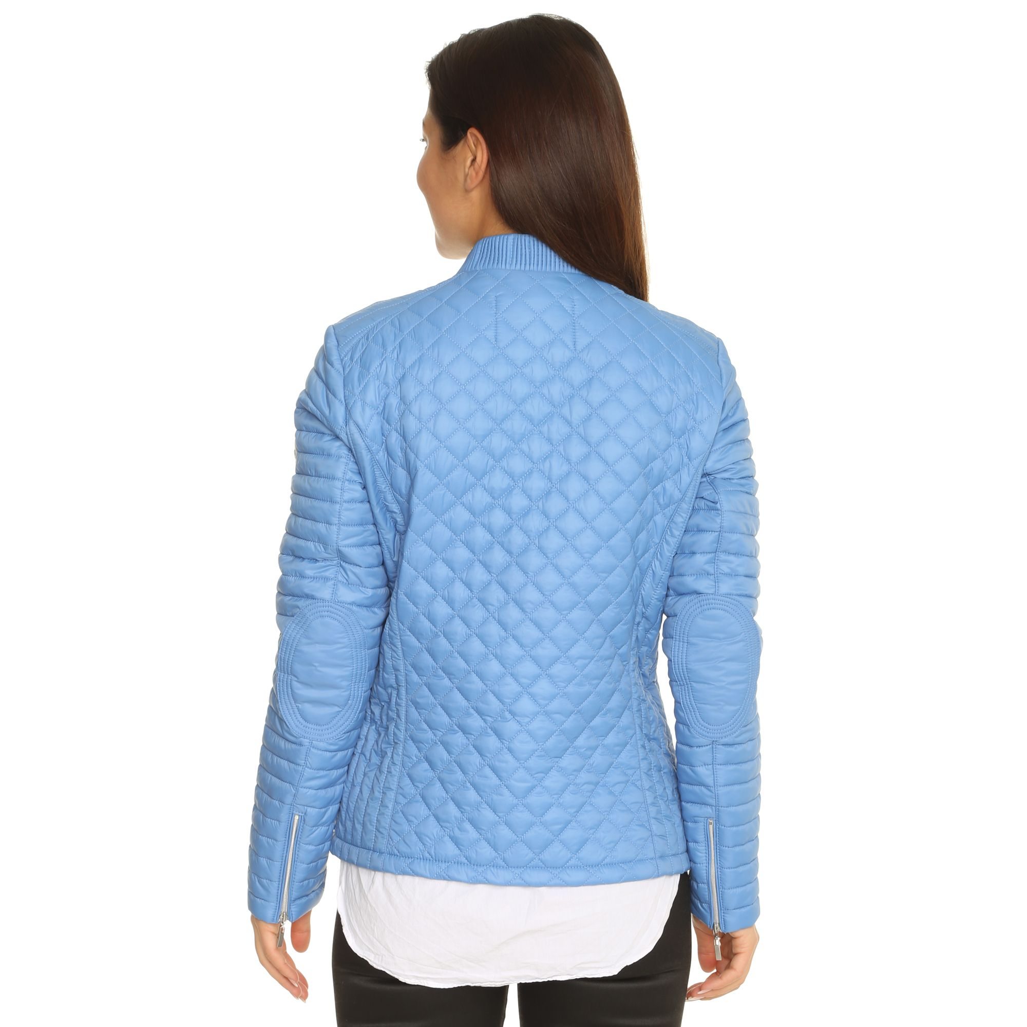 Qvc Garten Chic Frieda Loves Nyc Steppjacke Bikerstyle Steppvariationen 2