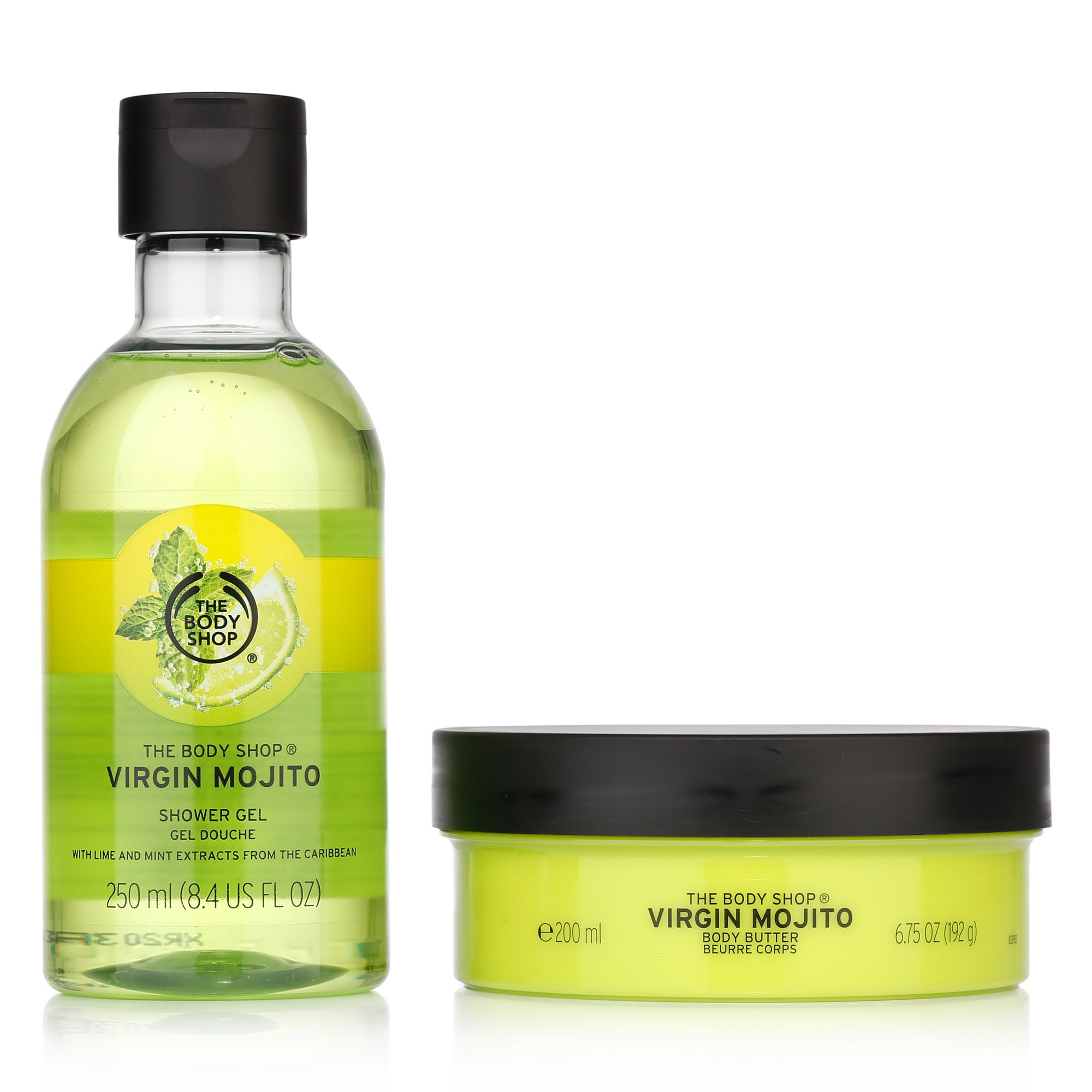 Qvc Vitaform Schuhe Outlet The Body Shop Virgin Mojito Body Butter 200ml And Shower