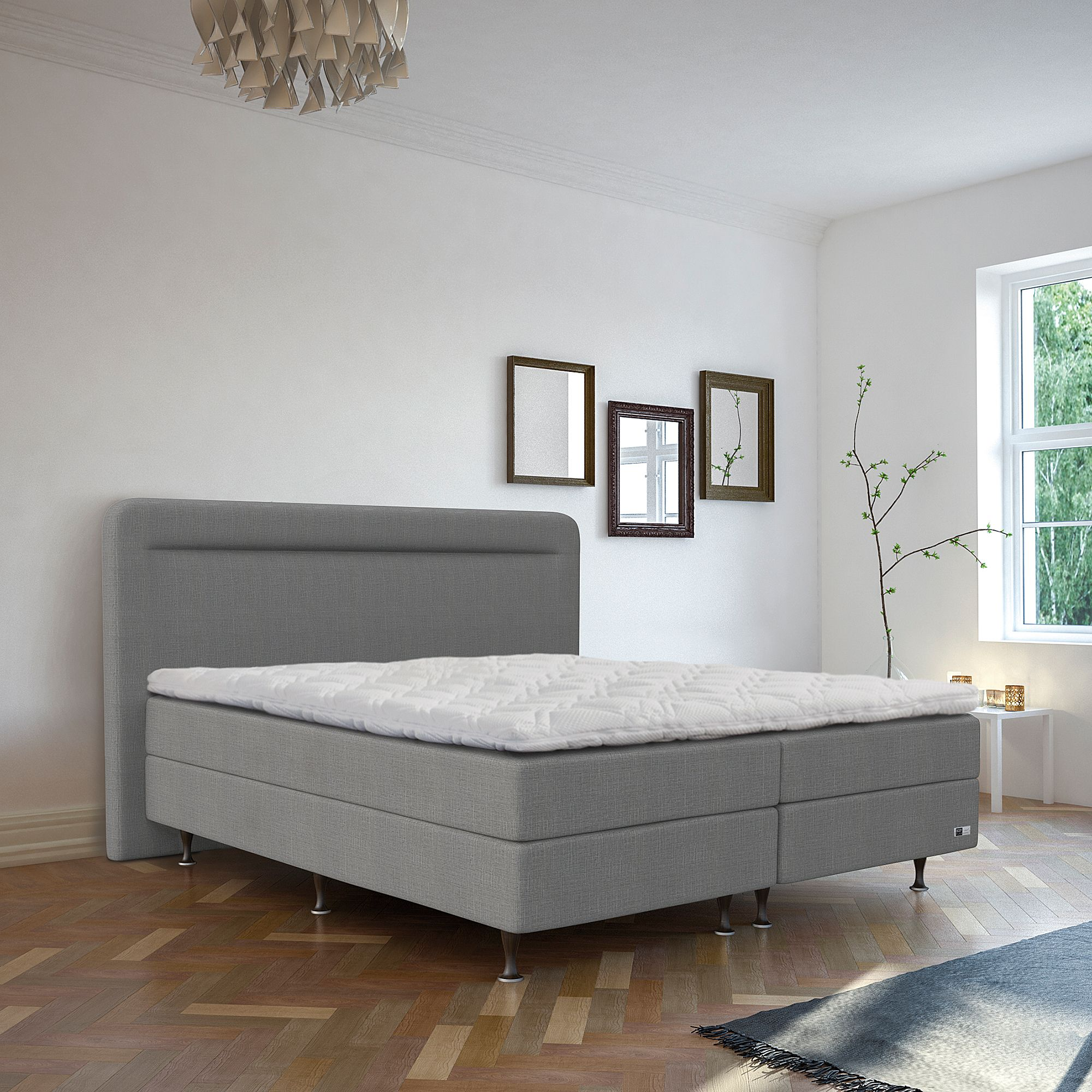 Boxspring Trends Bodyflex Boxspring Bett Vario Serie Deluxe Wendetopper Variable