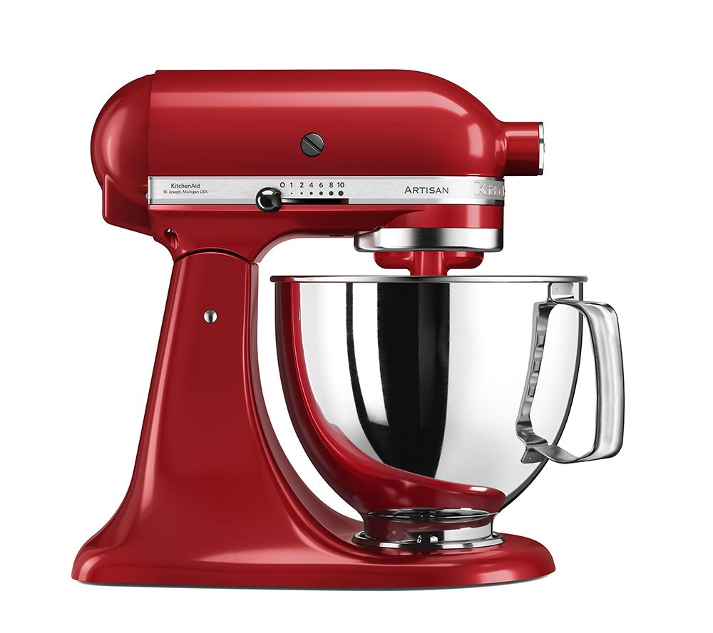 Kitchenaid Küchenmaschine Video Kitchenaid Artisan Küchenmaschine 4 8l Inkl Nudelteigroller Qvc De