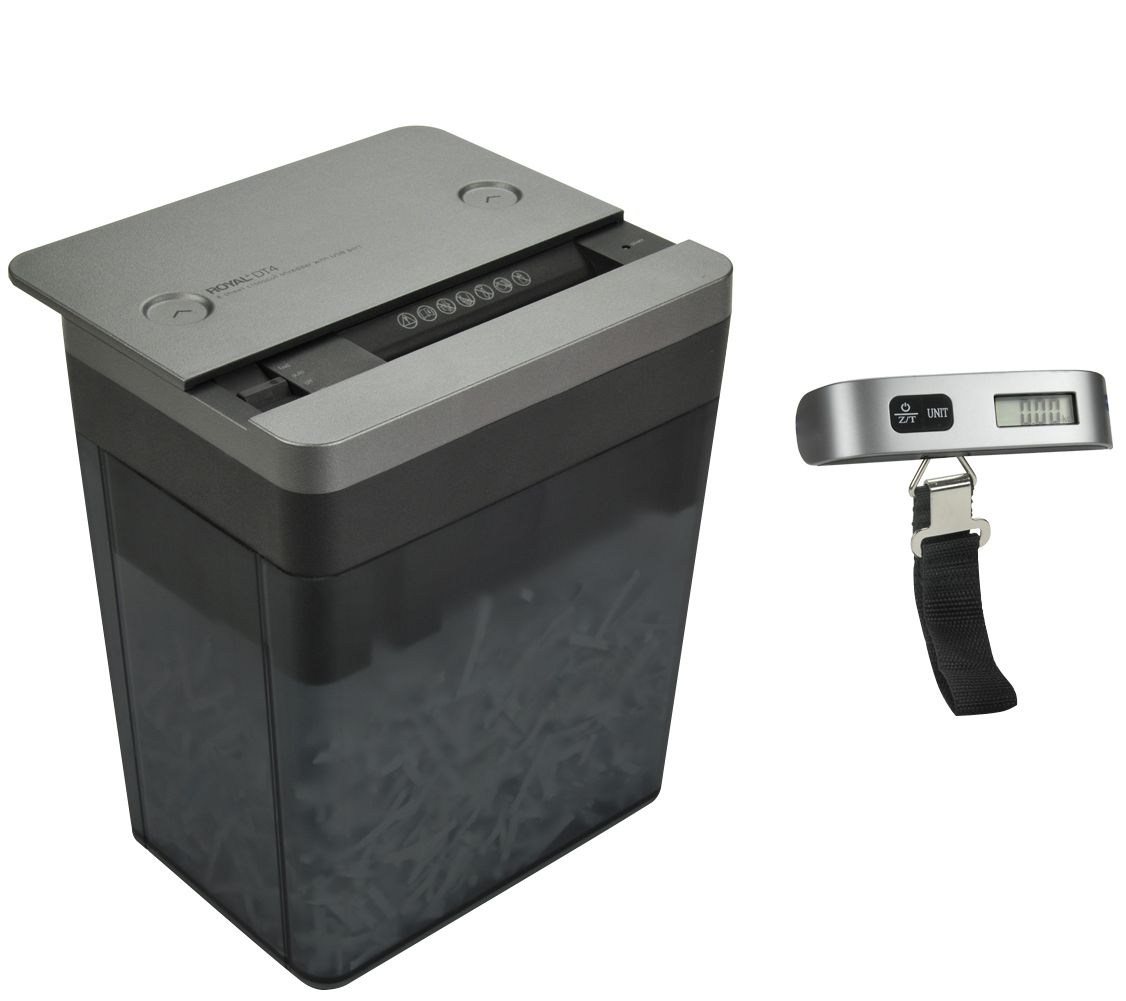 Luggage Scale Big W Royal Desktop Paper Shredder W Digital Compactluggage