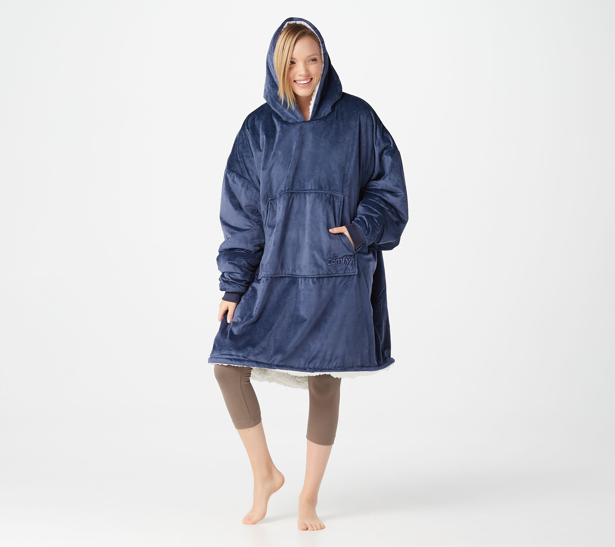 Snuggie Kopen The Comfy Original Oversized Blanket Sweatshirt Qvc
