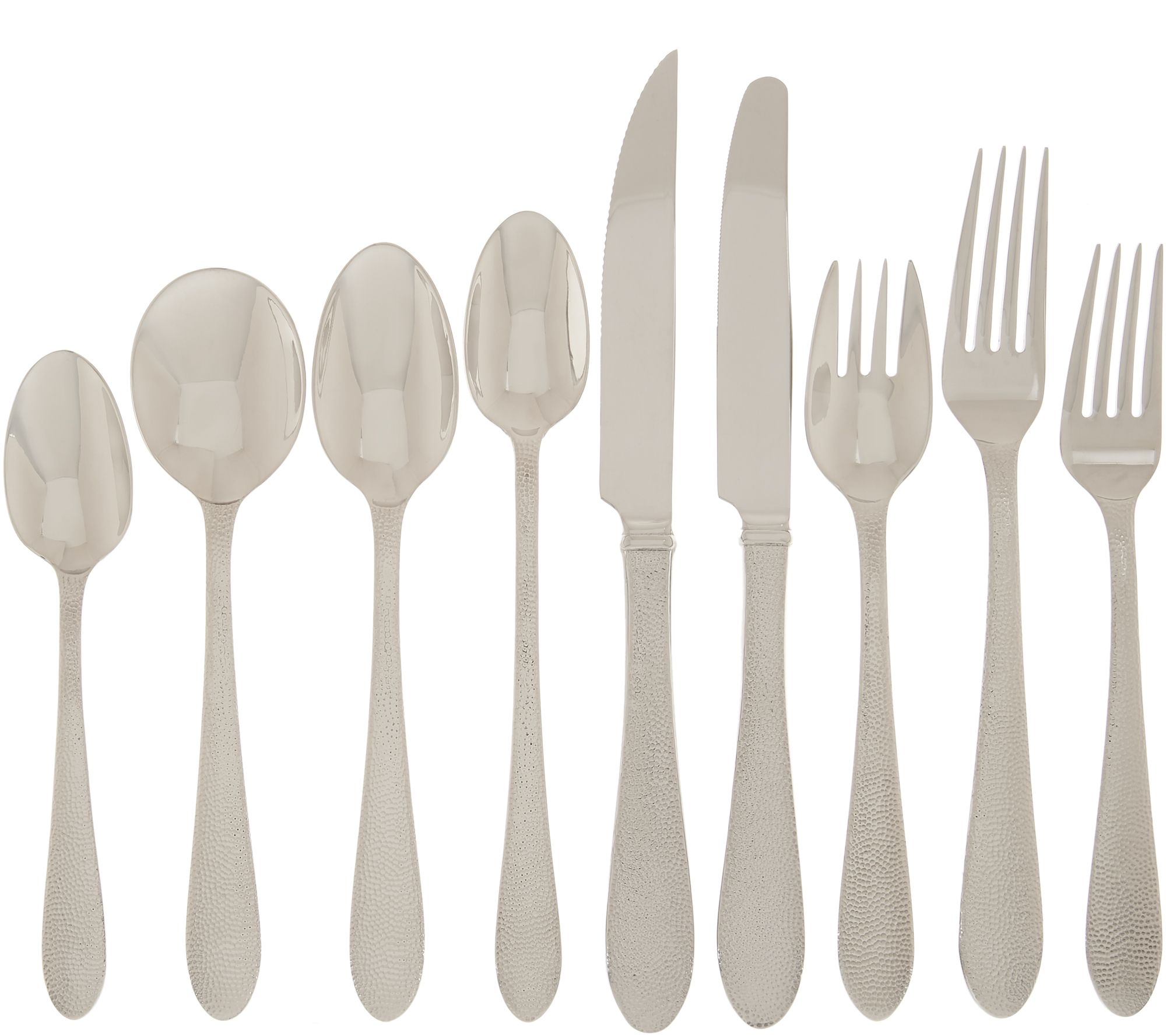 Used Flatware For Sale Lenox 18 10 Stainless Steel 112 Piece Flatware Set Qvc