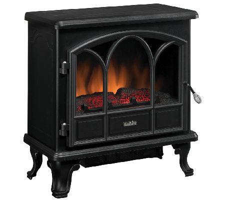 Duraflame Pendleton Electric Stove Fireplace Heater Qvccom