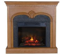 Royal Freestanding Vent Free Electric Fireplace  QVC.com