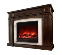 Rutherford Vent Free Electric Fireplace  QVC.com