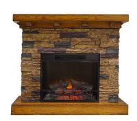 Flagstone Freestanding Vent Free Electric Fireplace  QVC.com