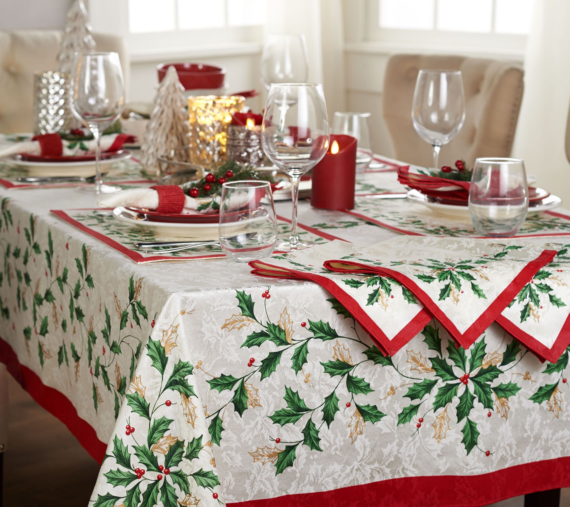 Christmas Tablecloths Australia Fresh Free Lenox Christmas Tablecloths And Napkins 20349 With