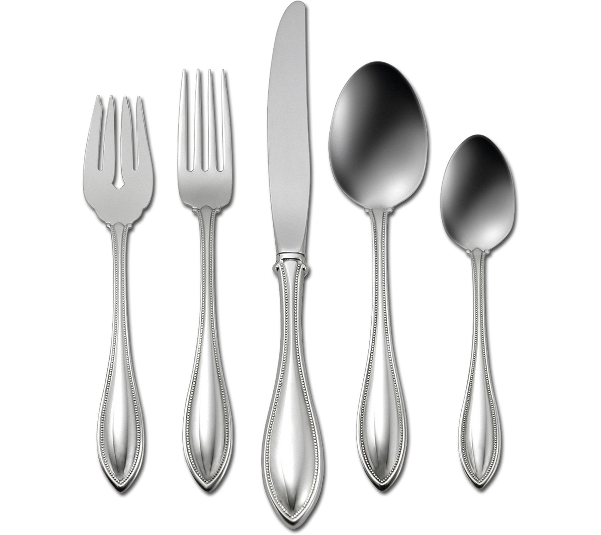 Best Deal On Silverware Oneida American Harmony 45 Piece Flatware Set Qvc