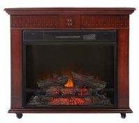 Strasburg Freestanding Vent Free Electric Fireplace ...
