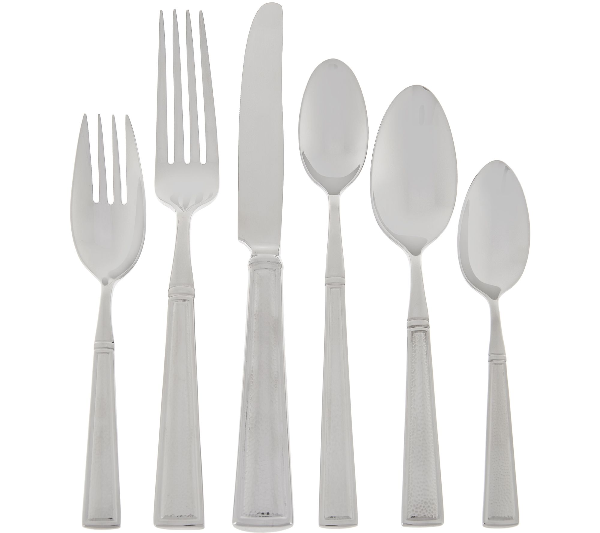 Best Deal On Silverware Lenox 18 10 Stainless Steel 80 Pc Service For 12 Flatware