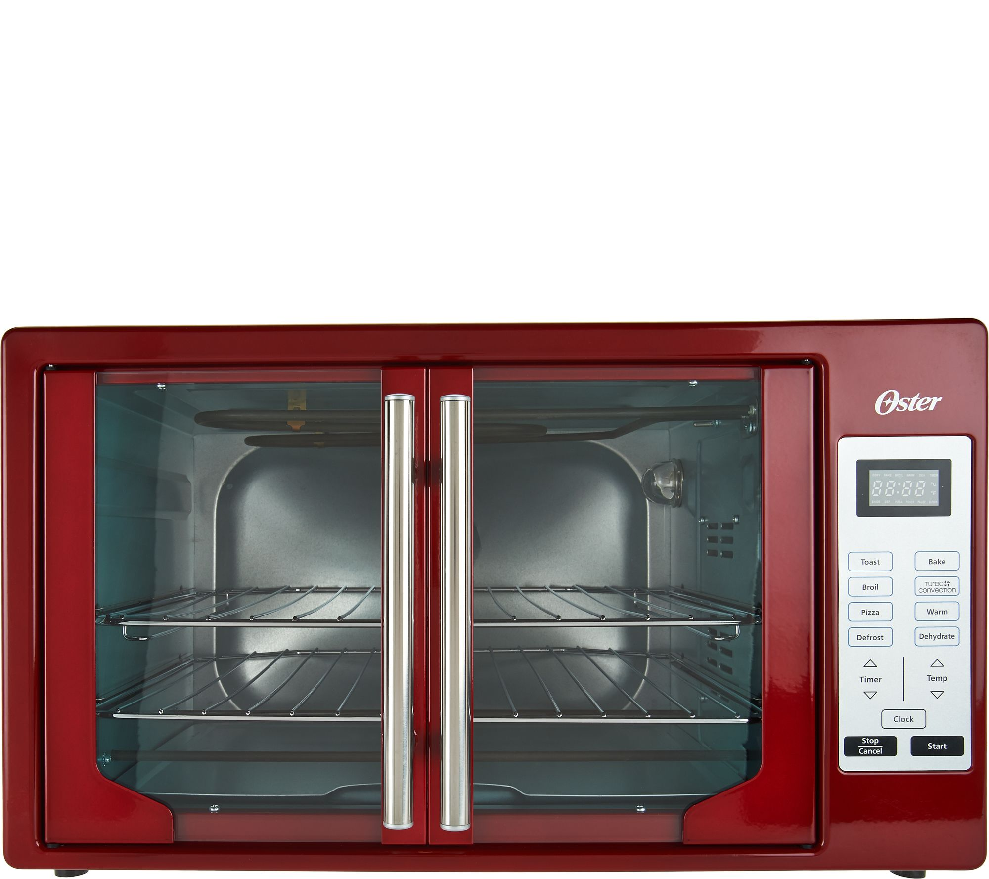 Oster Convection Countertop Oven Reviews Oster Xl Digital Convection Oven With French Doors Qvc
