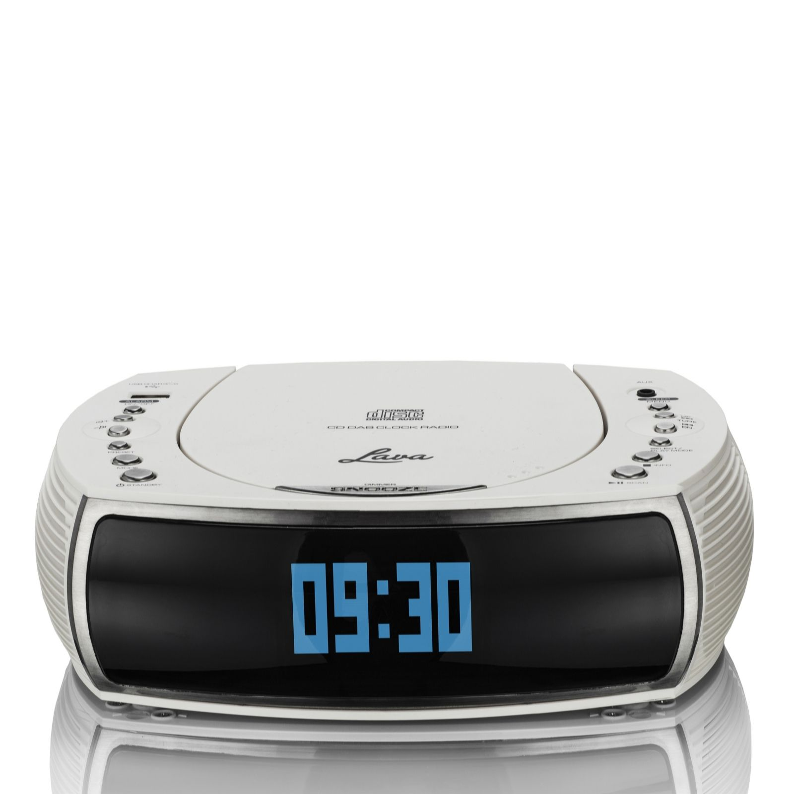 Bedside Alarm Clock Digital Lava Bedside Alarm Clock Dab Dab Digital And Fm Radio With