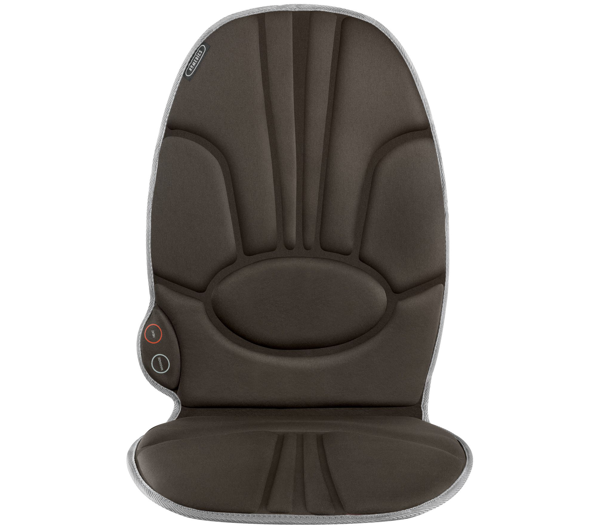 Massage Chair Cover Homedics Comfort Deluxe Massage Cushion With Heat Qvc