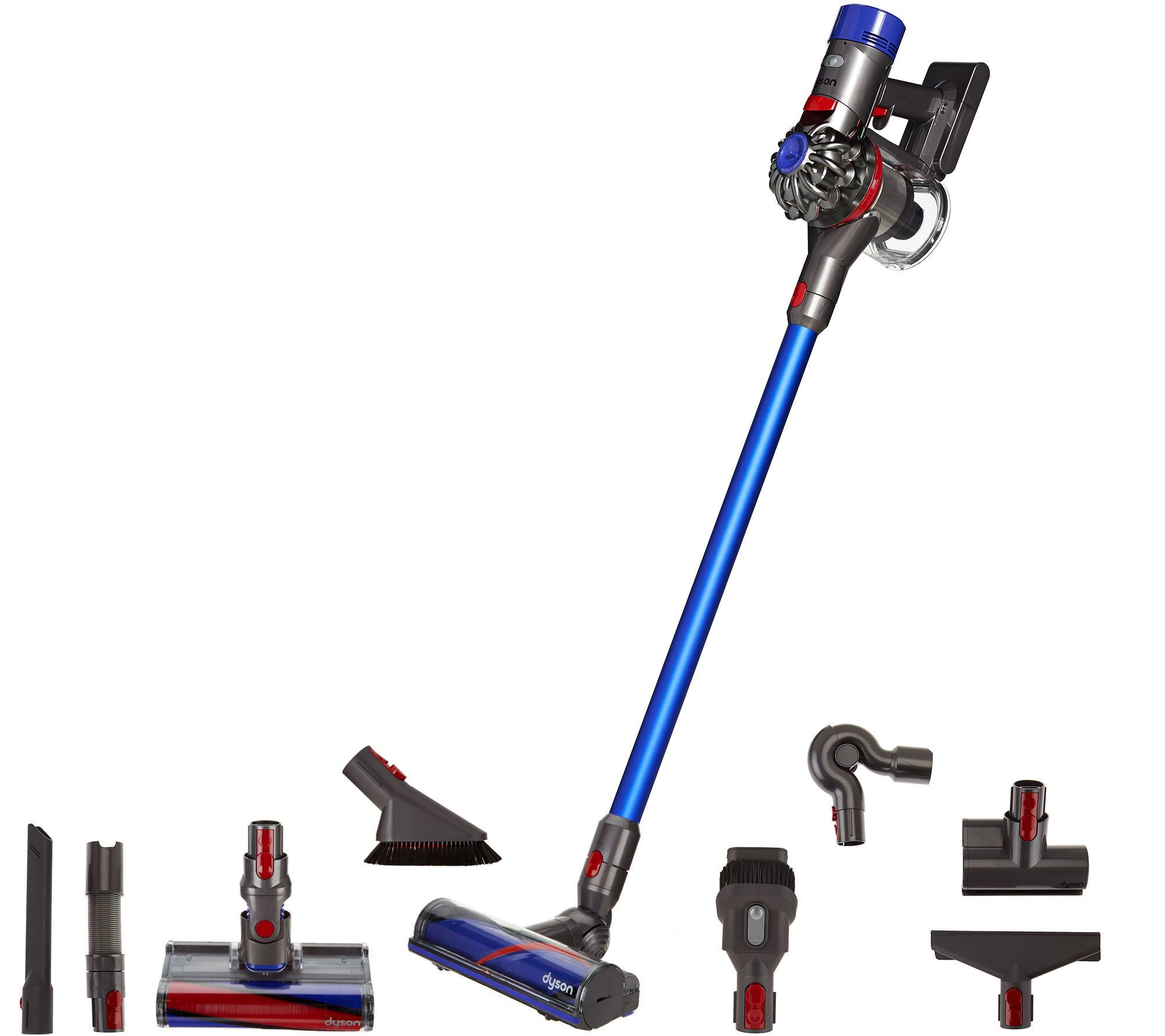 Aspirateur Dyson V8 Absolute Dyson V8 Absolute Cordless Vacuum With 8 Tools Hepa Filtration Qvc