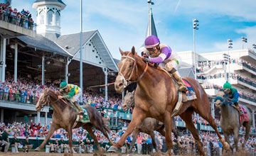 I'll Have Another wins the Kentucky Derby at Churchill Downs on 5.5.2012.