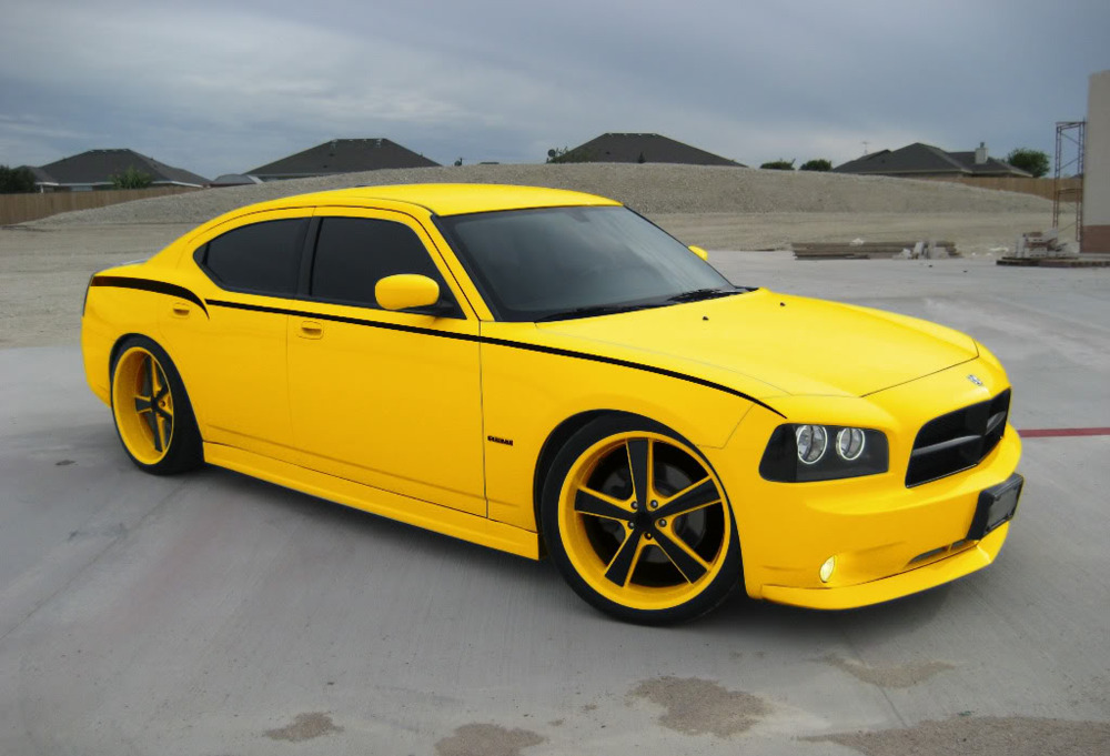 Dodge Charger Yellow Dodge Charger Srt Yellow Mitula Cars
