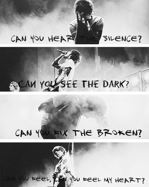 Falling In Reverse Wallpaper Iphone 4 Bring Me The Horizon Can You Feel My Heart Lyrics