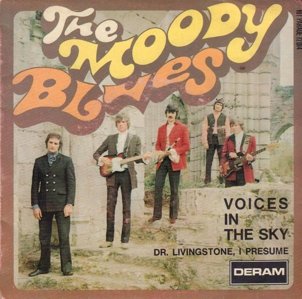 Voices in the sky / dr livingstone, i presume by Moody Blues, SP