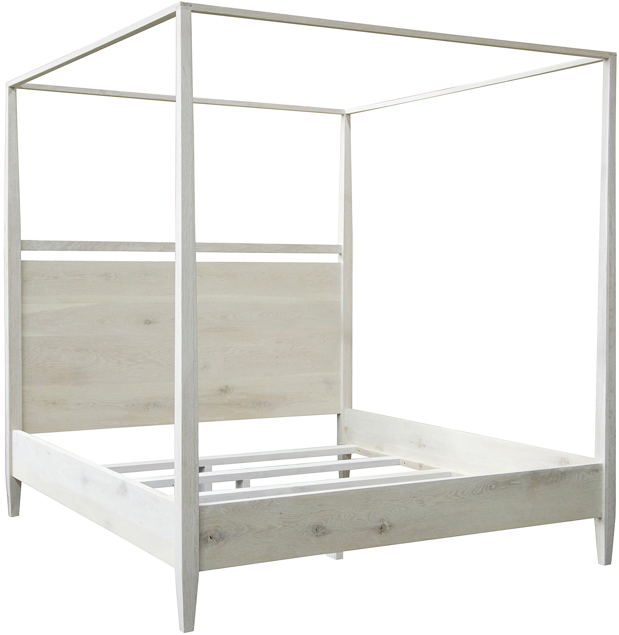 White Four Poster King Bed Cfc
