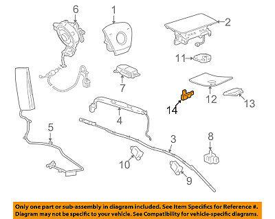 GM OEM Air Bag-Position Sensor 25951880 For Sale