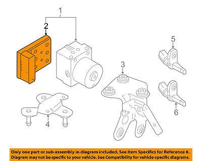 VW VOLKSWAGEN OEM 09-10 Jetta Anti-lock Brakes-Control Module