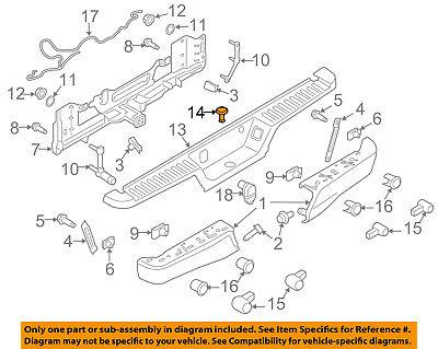FORD OEM 15-18 F-150-Bumper Trim-Insert FL3Z17B807AA For Sale