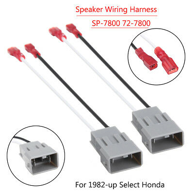 Car Audio Radio Speaker Wiring Harness Adapter SP-7800 72-7800 For