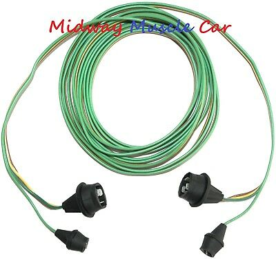 rear body intermediate 62 63 64 65 66 wiring harness Chevy pickup