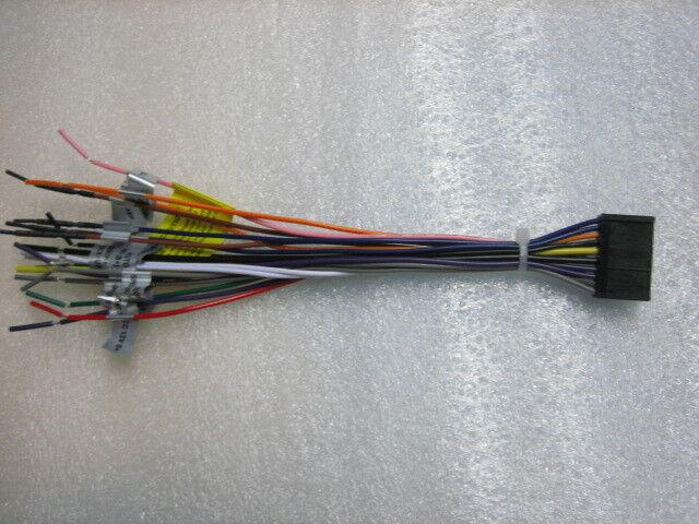 Dual Wire Harness XDVD236BT,XDVD1265BT,XD, XDVD1262, XDVD256BT