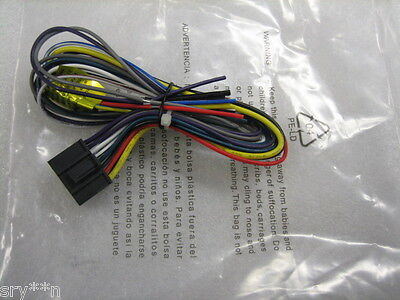 NEW Dual Wire Harness XDMA6825,XDMA6855, XDVD770BT For Sale