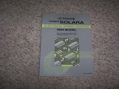 2004 Toyota Camry Solara Electrical Wiring Diagram Manual Coupe