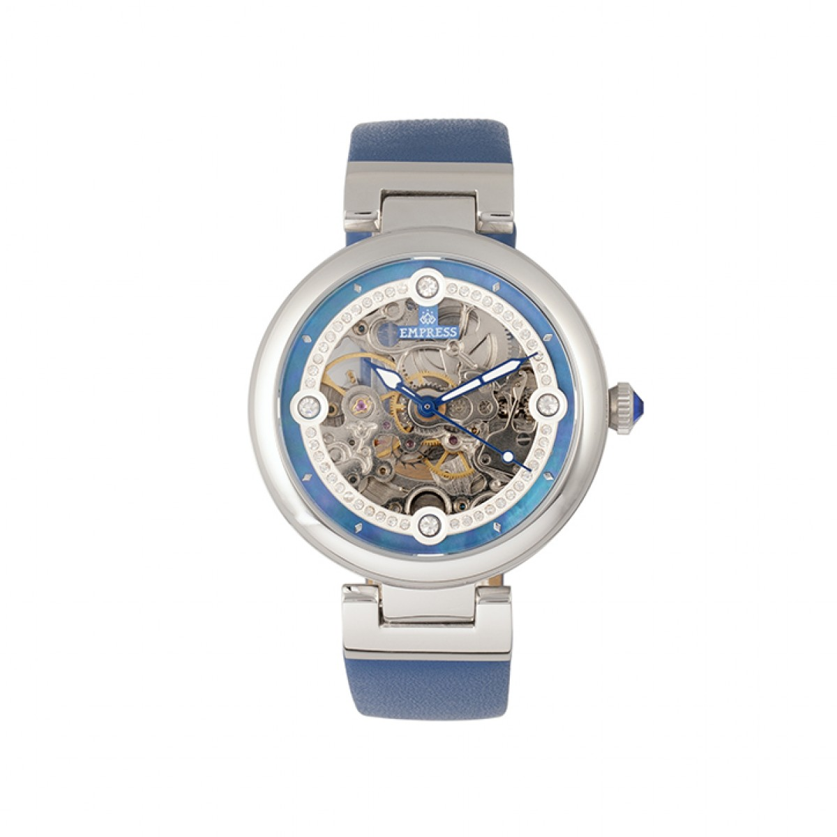Seconds Steel Adelaide Empress Automatic Timepieces