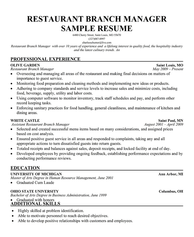 Caterer Resume Resume Sample Coordinator Catering Or Special Events