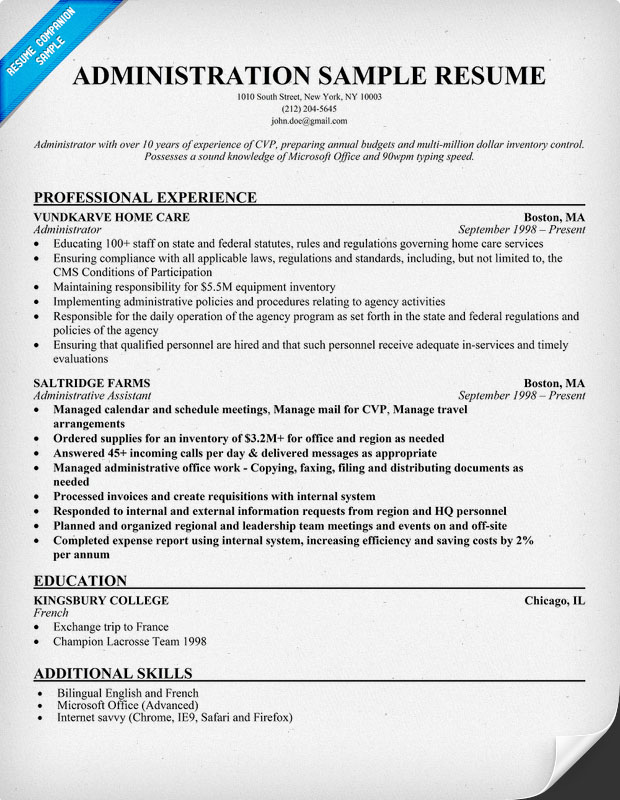 Essays wich you need tomorrow - will be ready today ! free example - example resumes for administrative assistant