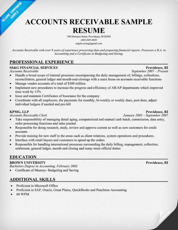 Free Resume Samples Accounts Payable Clerk  Professional Resumes