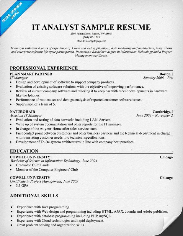 Project Management Resume Objective Sample Resume For College Resume Resume  Examples
