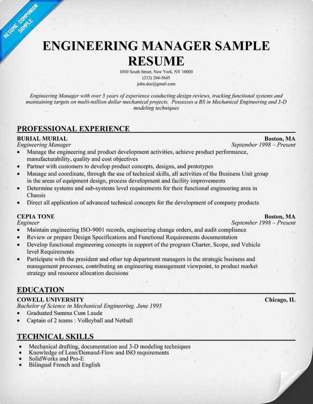 ... Careers Work Rsvpaint Resume Sample For Engineering Manager Rsvpaint
