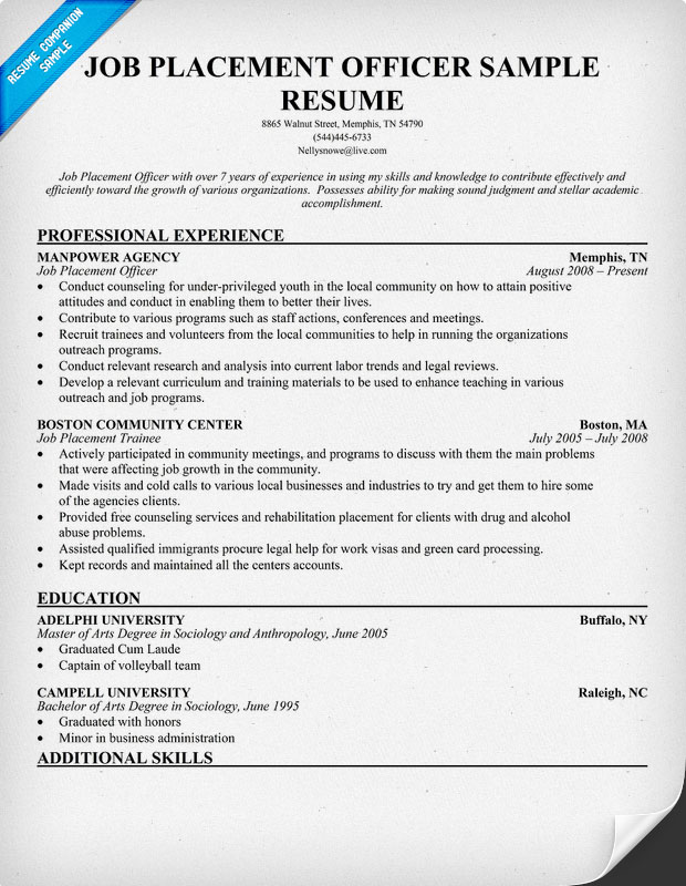 Has professional summary for resume for customer service large