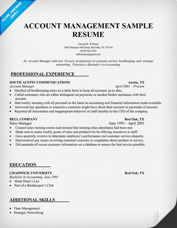 Essay Writing Guidelines An Introduction Done Right sample resume - sample resume account manager