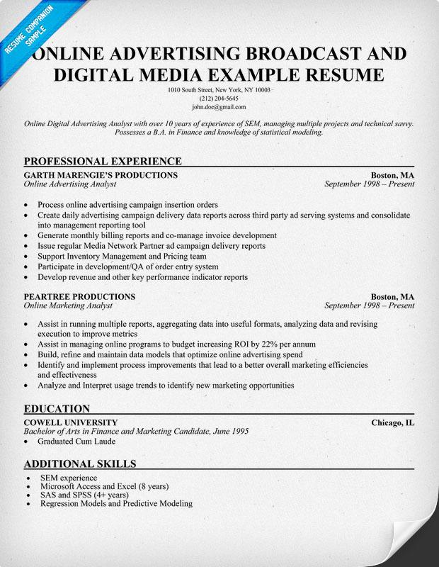 media broadcasting resume - 28 images - journalist resume sle - broadcast producer sample resume