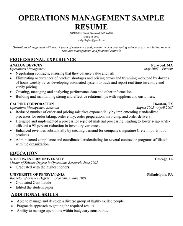 Top Business Operations Manager Resume Samples Jpg Cb Ruhyd Boxip Net Sample  Culinary ...  Operations Manager Sample Resume