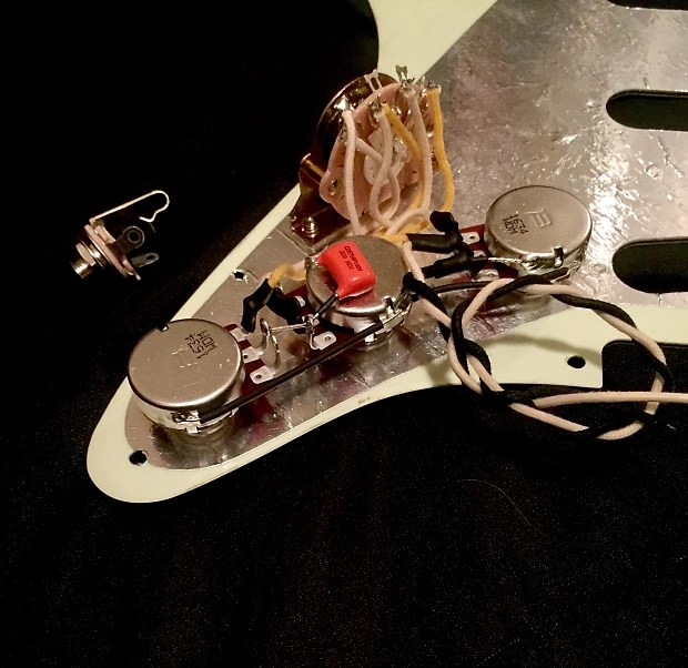 Upraded 50\u0027s Wiring Harness Fender Stratocaster Bourns Reverb