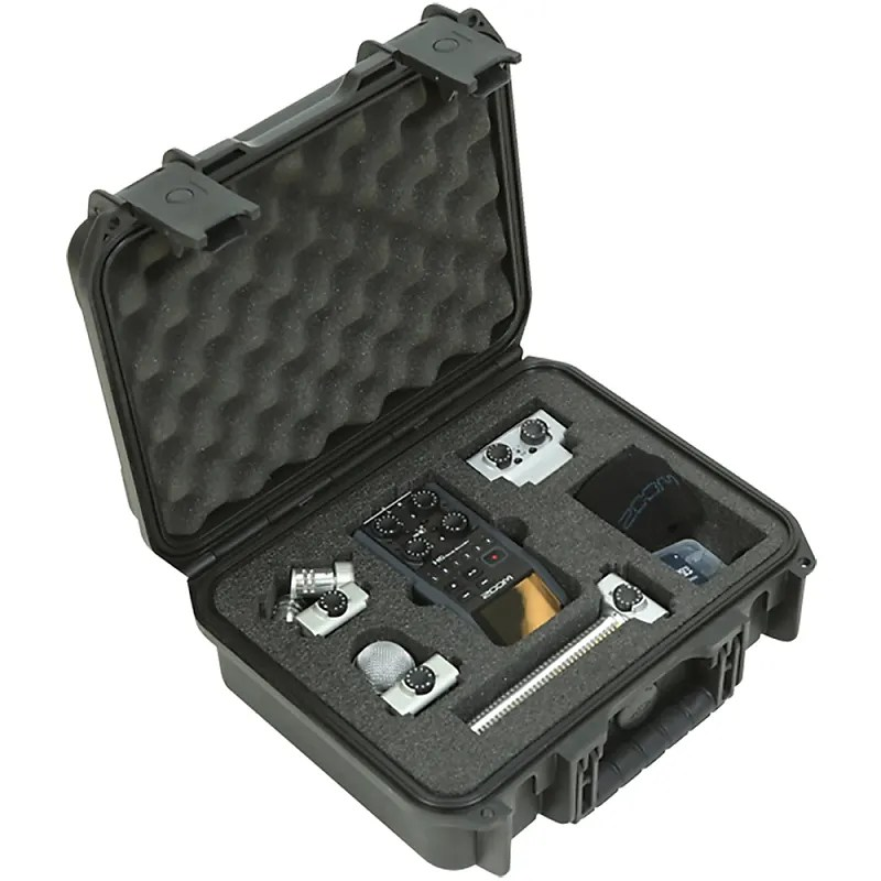 Zoom Sgh-6 Windscreen Skb Iseries Injection Molded Case For Zoom H6 Recorder