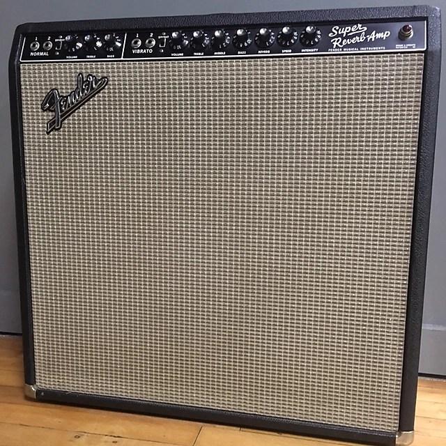 Fender Super Reverb 1967 Blackface
