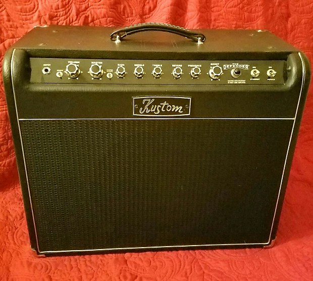 Kustom 50 Watt All-tube Defender 112 Combo Reverb