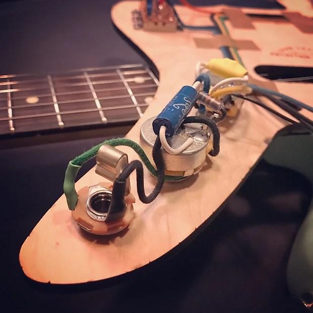 NEW Rothstein Prewired Fender JAGUAR Wiring 1962 Vintage Reverb