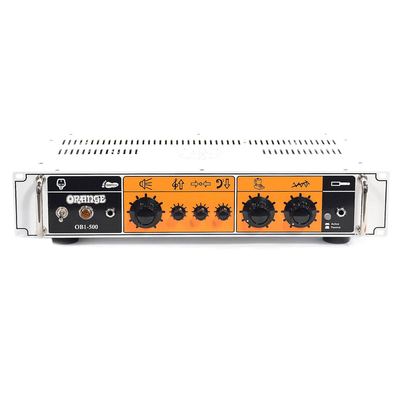 500 Watt Orange Ob1 500 Single Channel Solid State Head 500 Watt